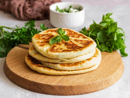 Пърленки от лимец и бяло брашно (със суха мая) - снимка на рецептата
